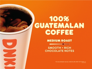 The Story Behind Dunkin's 100% Guatemalan Hot Coffee