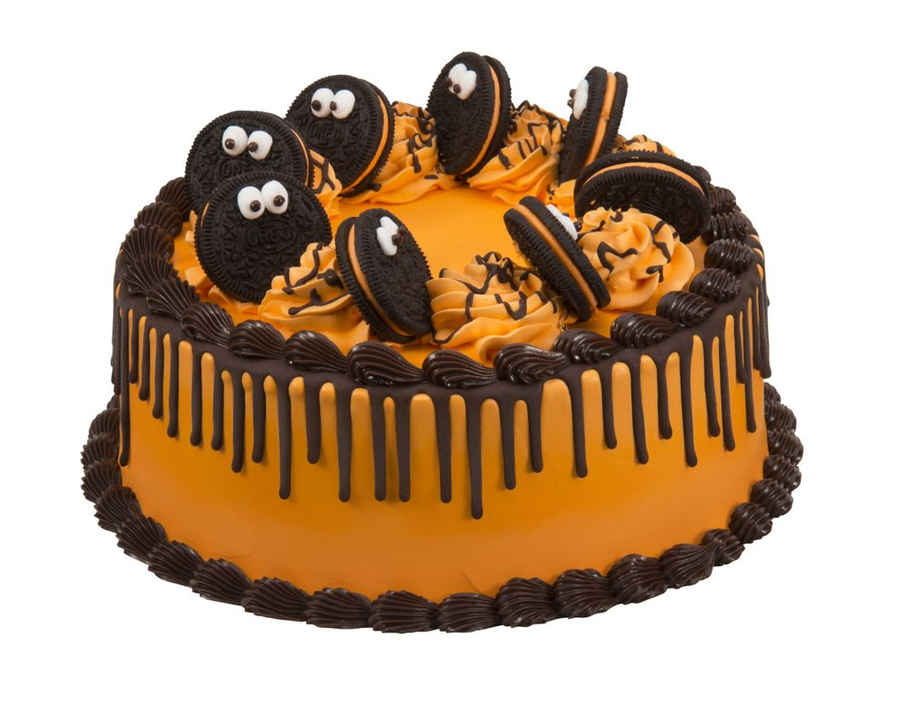 Halloween OREO Cookie Cake