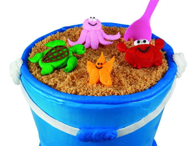 Sand Pail Cake