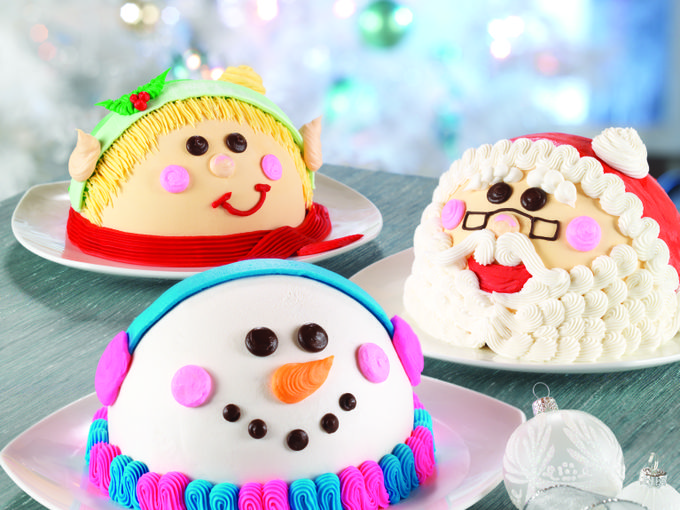 Holiday Dome Cakes