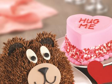 Baskin-Robbins is Making Valentine's Day Even Sweeter with  New Chocolate Hazelnut Flavor of the Month and Teddy Bear Cake