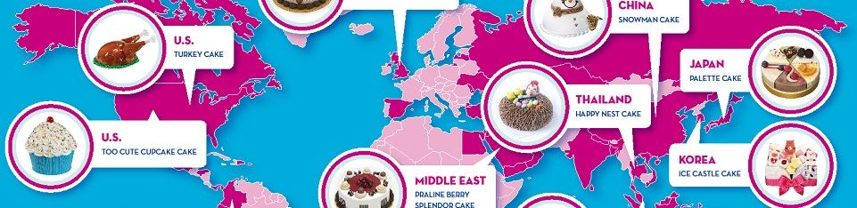 BASKIN-ROBBINS CELEBRATES ICE CREAM CAKES AROUND THE WORLD WITH GIVEAWAYS AND TWO NEW CAKE OPTIONS PERFECT FOR SHARING