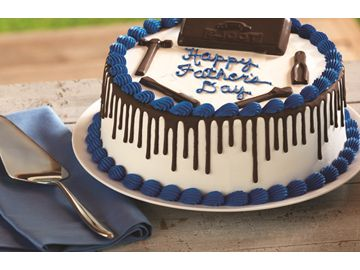 BASKIN-ROBBINS IS CELEBRATING DAD IN A VERY COOL WAY WITH FUN AND CREATIVE ICE CREAM CAKES