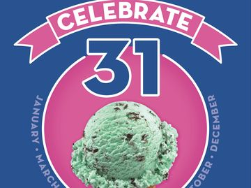 "Baskin-Robbins Kicks off Summer with ""Celebrate 31"" Promotion on Tuesday, May 31,  Offering Guests $1.31 Ice Cream Scoops"