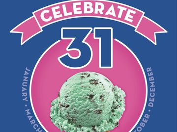 "Baskin-Robbins is Making Halloween Spooktacular for Treat-Seekers with $1.31 Scoops on October 31st as Part of ""Celebrate 31"" Promotion"