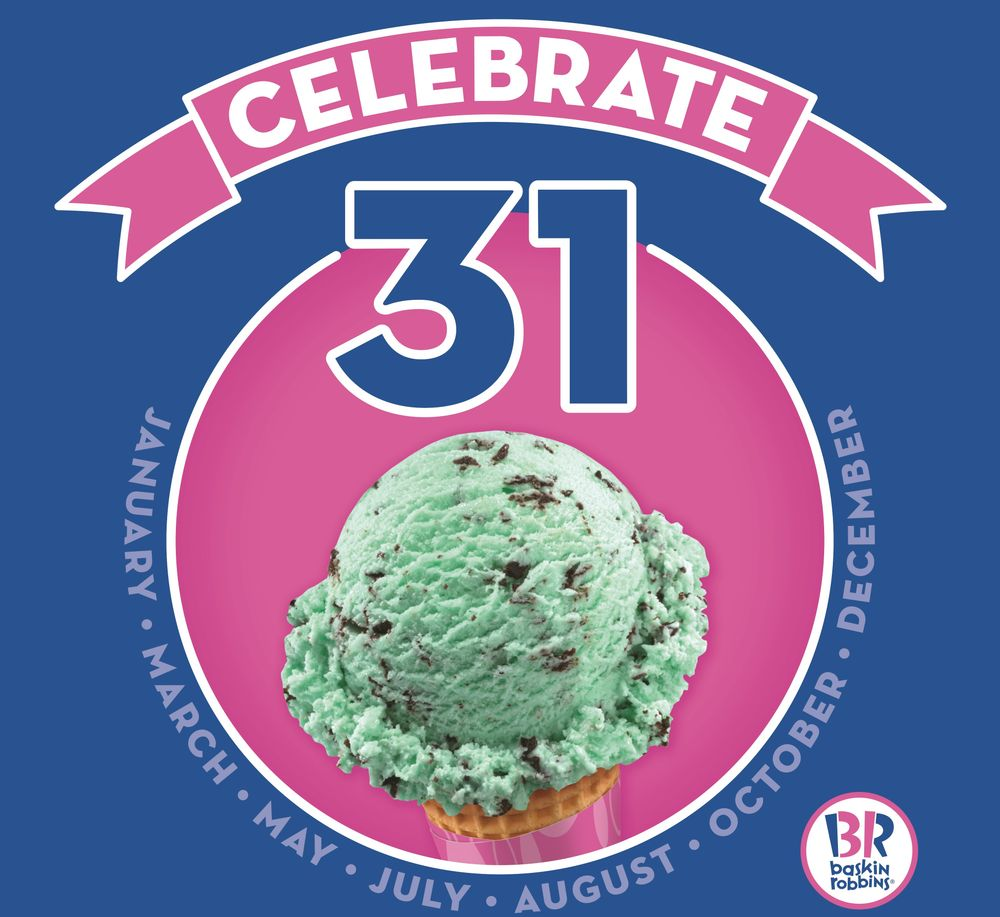 "The Five Best Ways to (Kind-Of) Keep your New Year's Resolutions with Baskin-Robbins' January ""Celebrate 31"" Promotion"