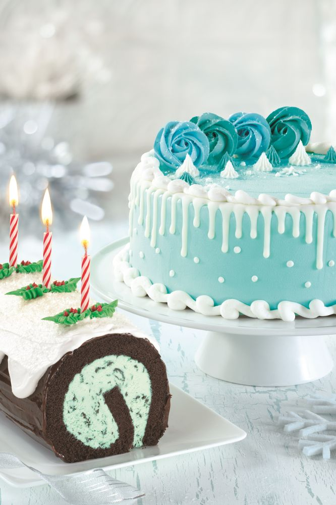 Baskin-Robbins Celebrates the Spirit of the Holiday Season with Festive Winter Wonderland Cake and YORK® Peppermint Pattie Flavor of the Month