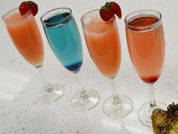 Ring in the New Year with These Baskin-Robbins Ice Cream Cocktails