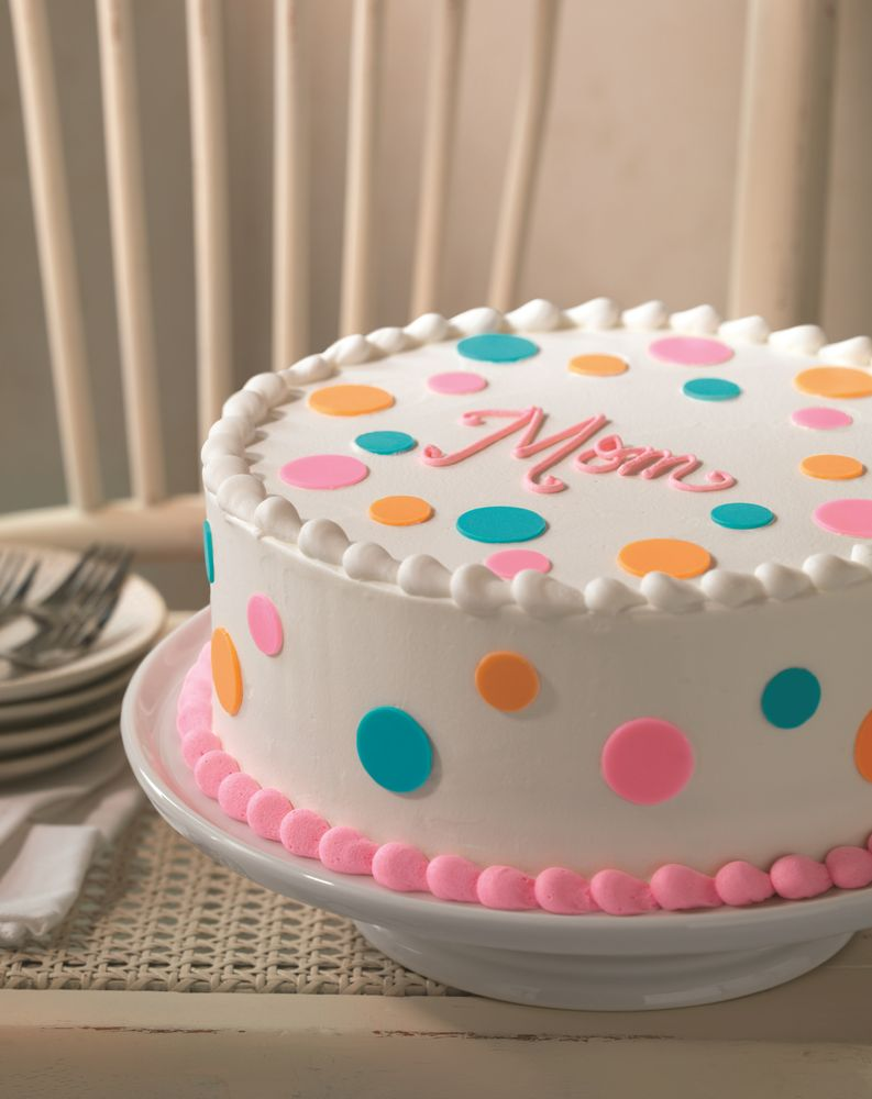 Baskin-Robbins Celebrates Moms Nationwide with New Polka Dot Cake and May Flavor of the Month, Mom's Makin' Cookies™