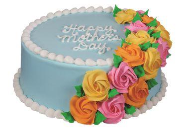 Elegant Rosette Cake