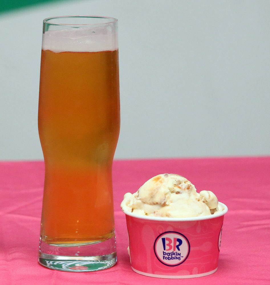 Pralines 'n Cream and Pilsner