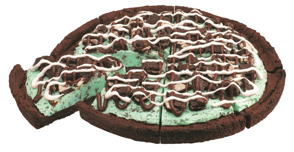 Mint Chocolate Chip Polar Pizza