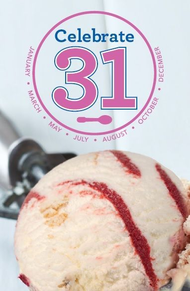 End Summer on a Sweet Note with Celebrate 31