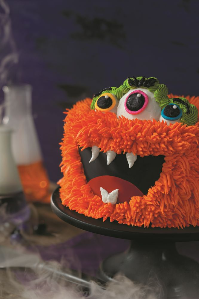 Fang-Tastic Monster Cake