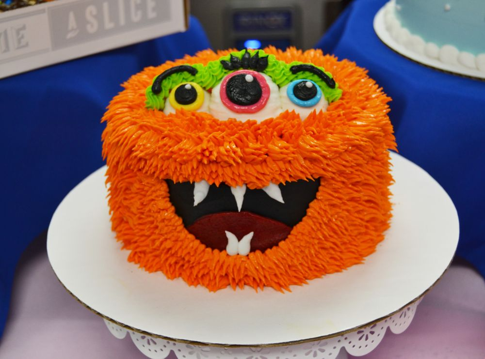 The Story Behind our New Scarily Delicious Fang-Tastic Monster Cake