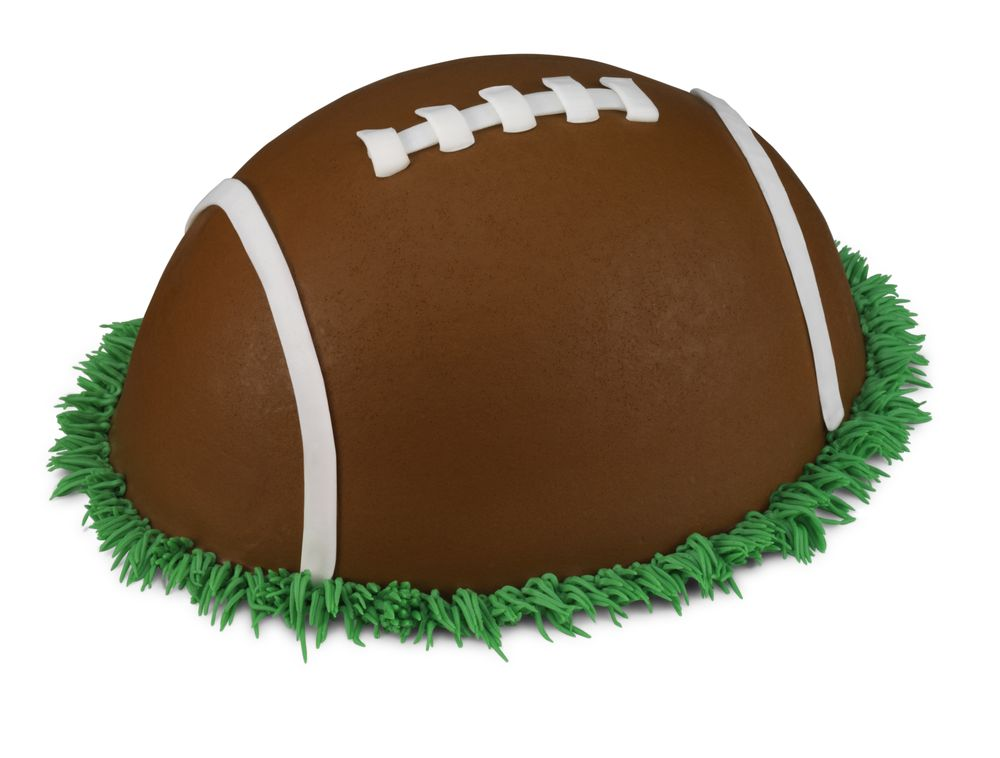 The Baskin-Robbins Football Cake is The Perfect Game Day Treat
