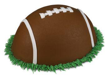 Silo Football  Cake