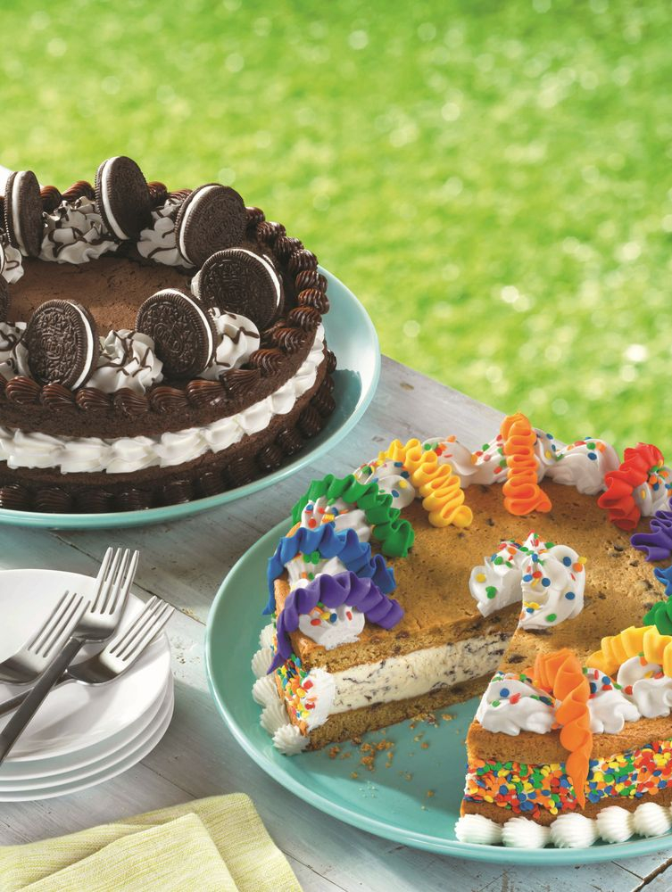 Baskin-Robbins Guests Can Now Have their Cake and Cookie too with the Launch of New Cookie Cakes