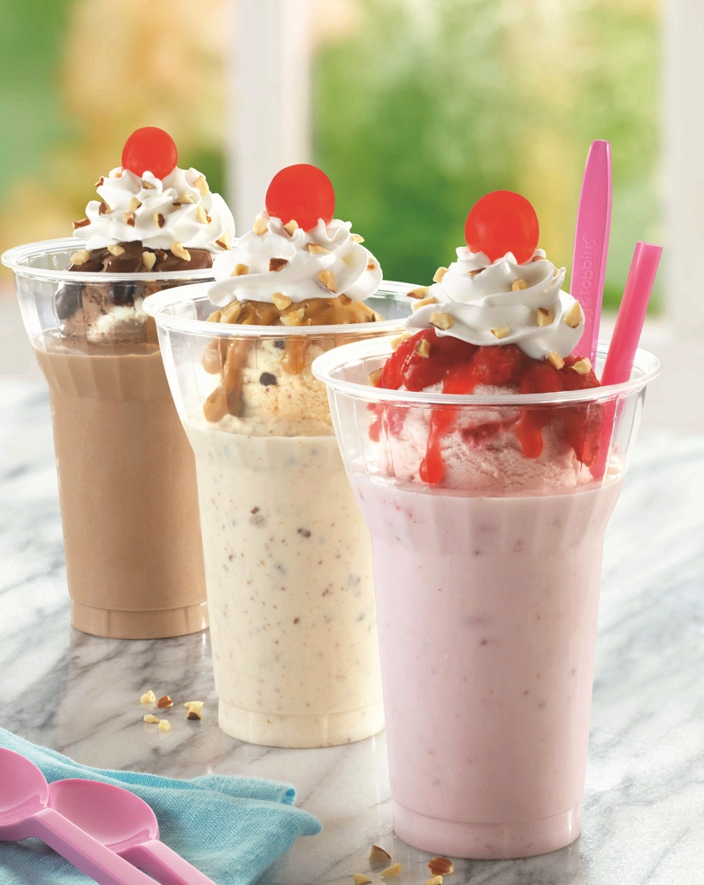 Baskin-Robbins Shakes Things Up With New Sundae Shakes