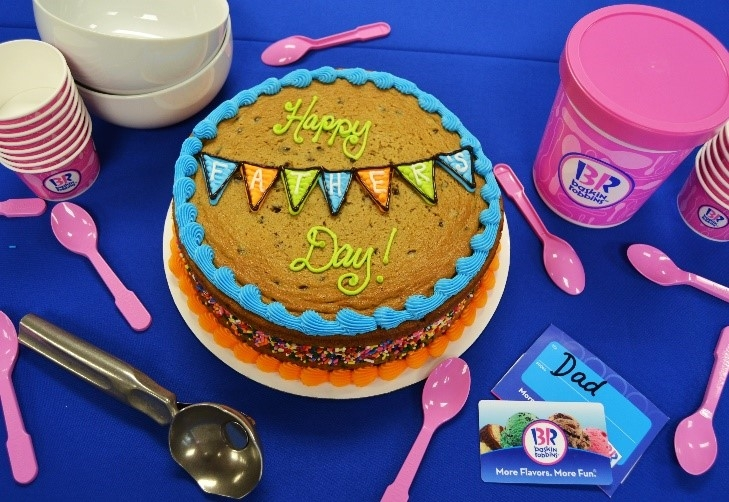The Ultimate Baskin-Robbins Father's Day Gift Guide for the New Dad in Your Life