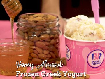 The Story Behind our NEW Honey Almond Greek Frozen Yogurt
