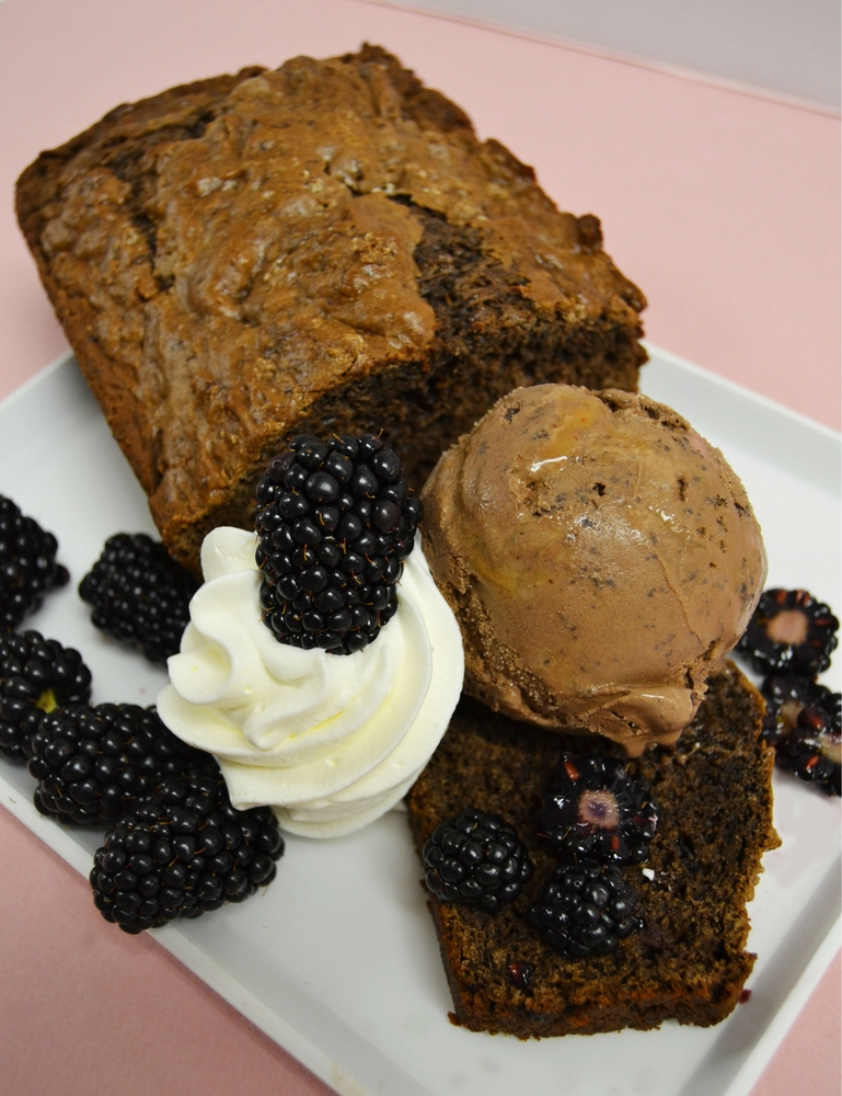Sweeten Up Labor Day Weekend with this Chocolate Del Fuego Ice Cream Bread Recipe