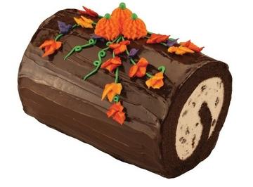 Fall  Harvest Roll Cake