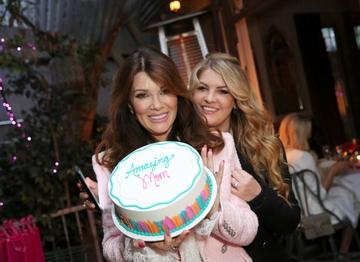 Lisa and Pandora Vanderpump_Baskin Robbins Mothers Day Cake