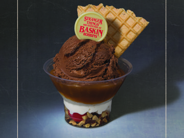 Baskin-Robbins Stranger Things UpsideDown