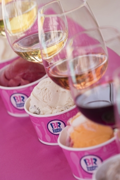 Wine and Ice Cream