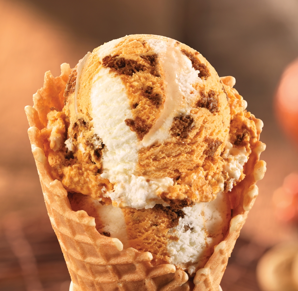 Baskin-Robbins Introduces September's Flavor of the Month, Pumpkin Cheesecake