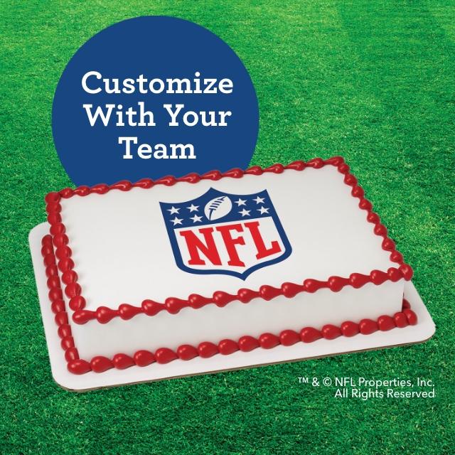 NFL Cakes Baskin-Robbins
