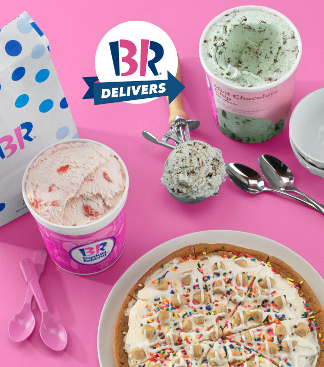 Top 5 Reasons to Order Baskin-Robbins Delivery