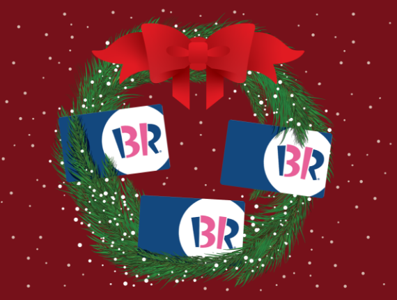 Give the Gift of Baskin-Robbins This Holiday Season