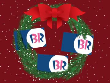 Give the Gift of Baskin-Robbins This Holiday Season
