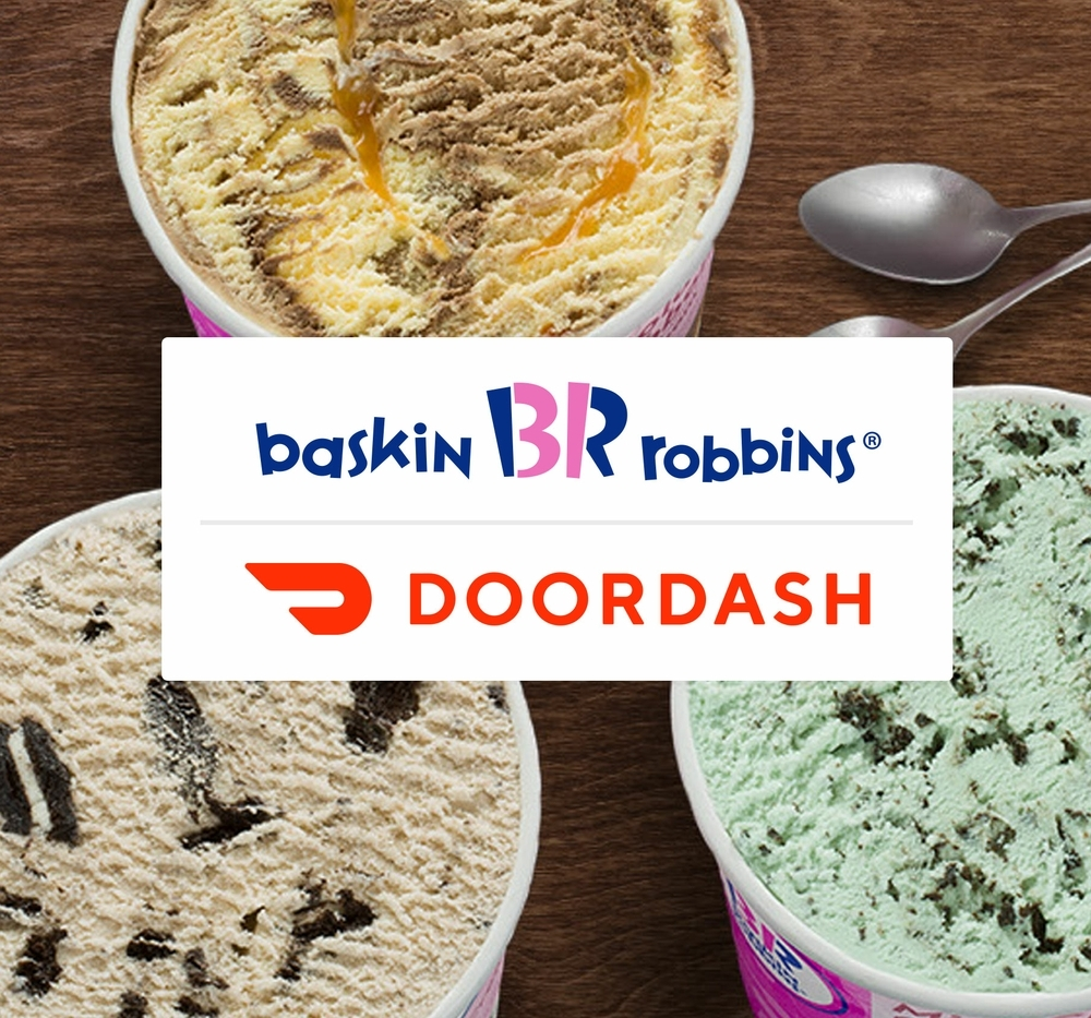 Celebrate National Ice Cream Month with a $0 Delivery Fee Offer via DoorDash