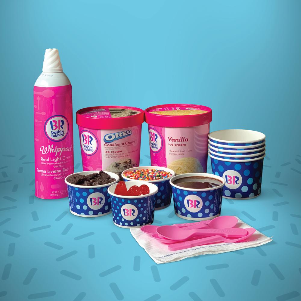 Take a Virtual Ice Cream Break with Baskin-Robbins DIY Sundae Kits