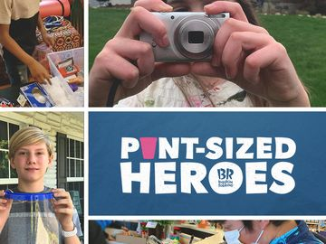 "Baskin-Robbins' New ""Pint-Sized Heroes"" Program Proves You Don't Have to Be a Grown-up to Step Up"