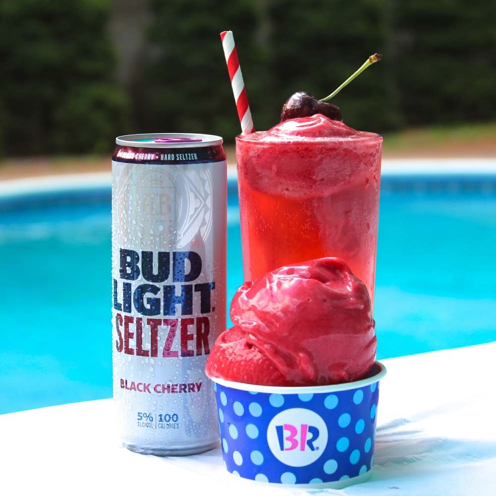 Baskin-Robbins and Bud Light Seltzer Pairings Are the Summer Drinks You Never Knew You Needed
