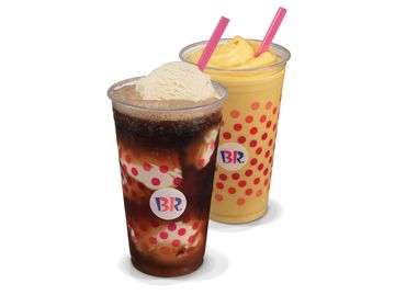 What is the Difference Between a Baskin-Robbins® Float and Freeze?