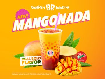 Baskin-Robbins Delivers Real Bold Flavor with New Sweet and Savory Mangonada
