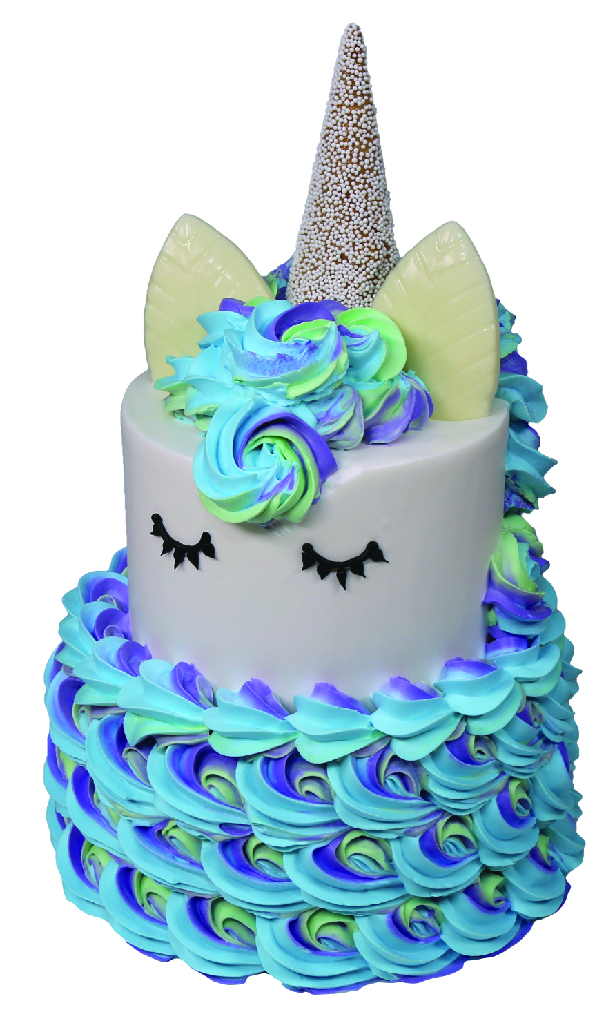 Unicorn Tiered Cake