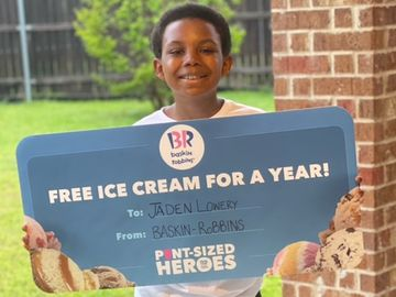 Meet Pint-Sized Hero Jaden Lowery from Grand Prairie, Texas
