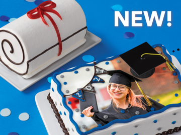 Celebrate Your Grad with an A+ Ice Cream Cake from Baskin-Robbins
