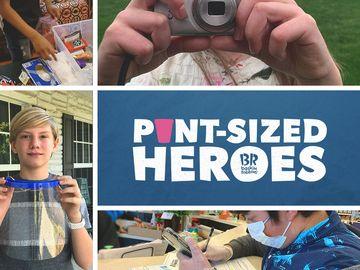 Baskin-Robbins' Pint-Sized Heroes Program Celebrates 1 Year!
