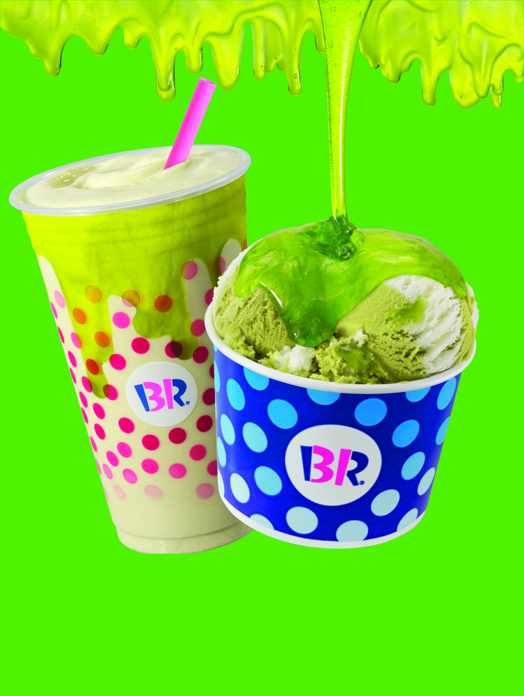 Slime Your Summer at Baskin-Robbins