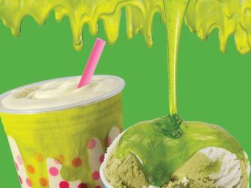 Baskin-Robbins Slime and Summertime Lime
