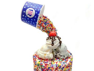 Celebrate National Ice Cream Cake Day with Imaginative Cakes from @TheCakist