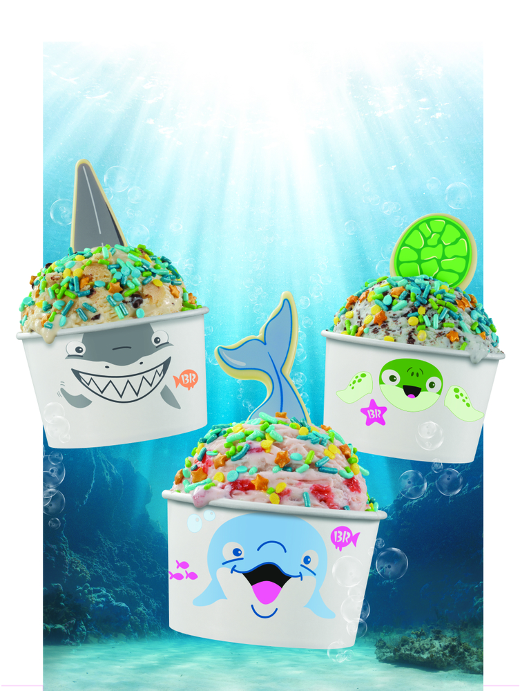 Rock Out with Baskin-Robbins' Exclusive Summer Soundtrack to Celebrate Its Newest Offering, Creature Creations® Into the Sea
