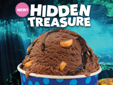 The Story Behind Baskin-Robbins' August Flavor of the Month, Hidden Treasure